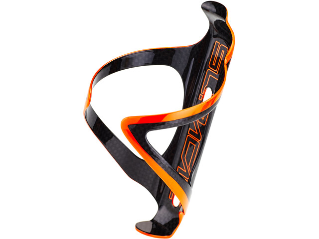 Supacaz Fly Cage Carbon Porte-bidon, neon orange